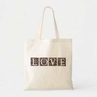 LOVE coffee tote