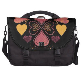 Love Collage Commuter Bag