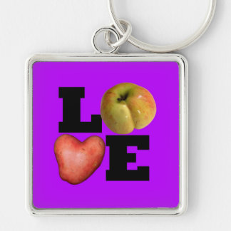 LOVE Collection in Purple Keychain
