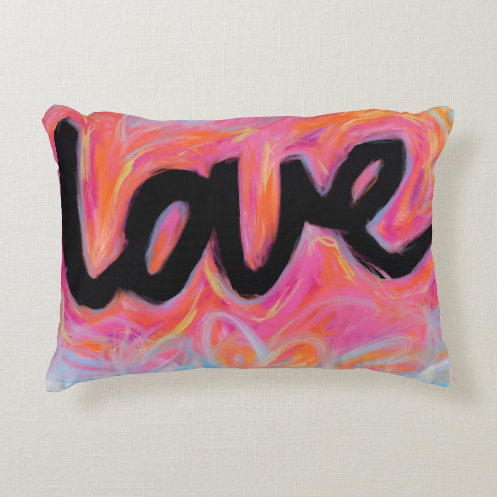 'LOVE' Collection Pillow