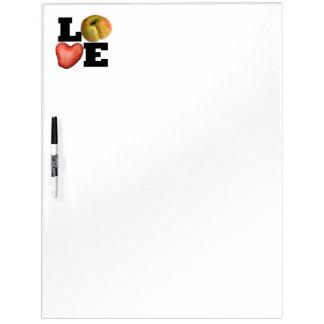 LOVE Collection Potato Kitchen Dry Erase Board