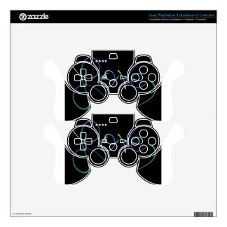 love Colors Black PS3 Controller Decal