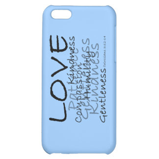 Love (Colossians 3) iPhone Case Cover For iPhone 5C