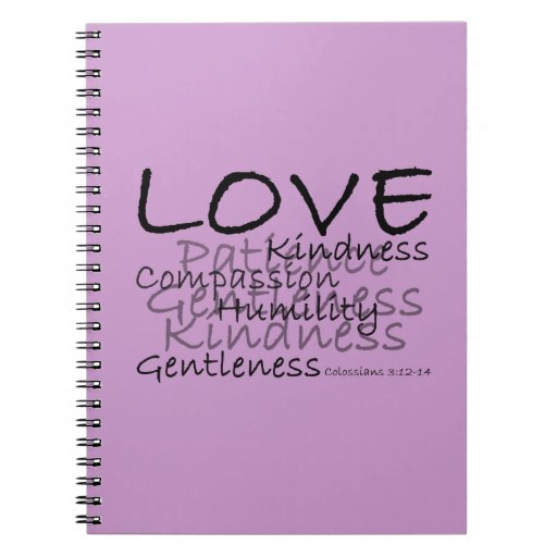 Love (Colossians 3) Notebook