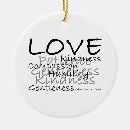 Love (Colossians 3) Ornament