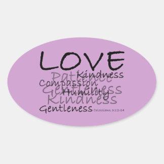 Love (Colossians 3) Stickers