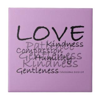 Love (Colossians 3) Tile
