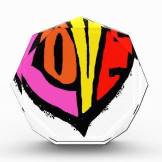 LOVE COLOUR ACRYLIC AWARD