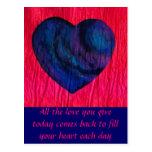 Love Comes Back Postcards