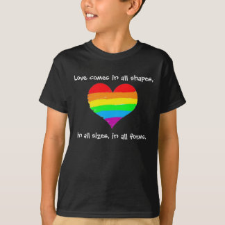 Love Comes in All Shapes T-Shirt