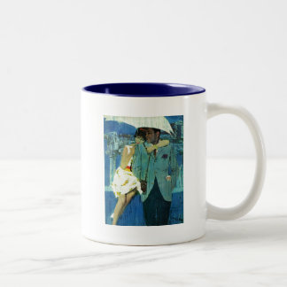 Love Comes to Miss Lucas Two-Tone Coffee Mug