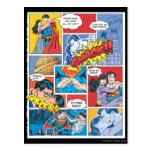 Love Comic Slides - Color Postcard