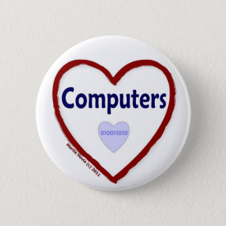 Love Computers Button