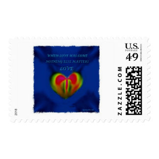 Love: concept art by Gary Revel on Postage Stamp