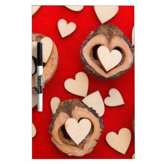 love concept dry erase board