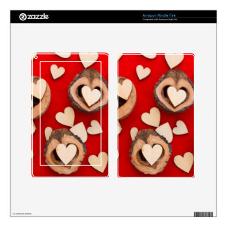 love concept kindle fire skin