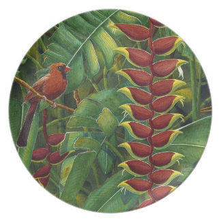 Love Confessions Melamine Plate