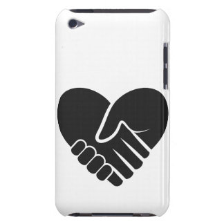 Love Connected black heart iPod Case-Mate Case