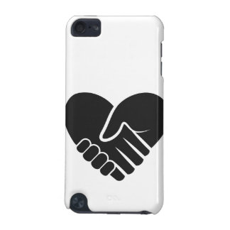 Love Connected black heart iPod Touch 5G Case