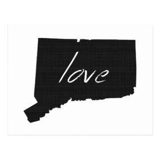 Love Connecticut Postcard