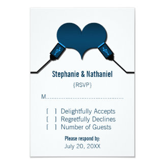 Love Connection USB Response Card, Blue Card