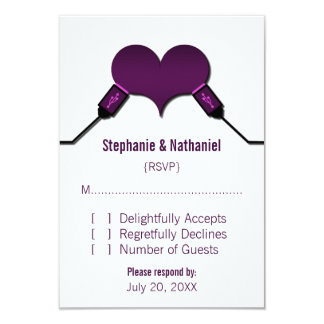 Love Connection USB Response Card, Purple Card