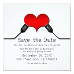 Love Connection USB Save the Date Invite, Red