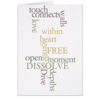 Love connects card