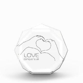 Love conquers all award