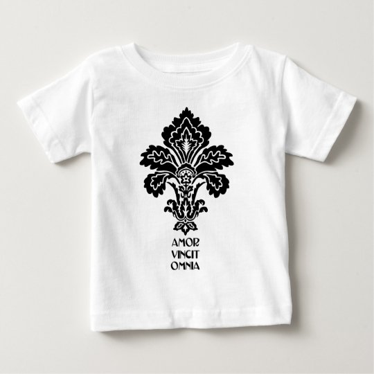 Love Conquers All (black-white) Baby T-Shirt