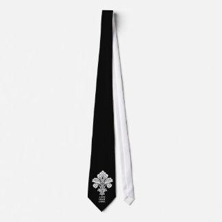 Love Conquers All (black-white) Tie