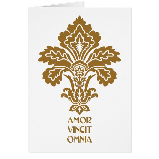 Love Conquers All (brown) Cards