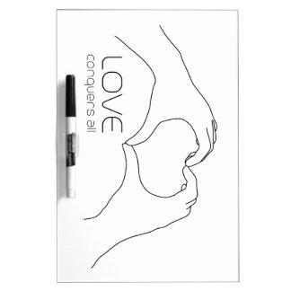 Love conquers all Dry-Erase board