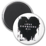 Love Conquers All Fridge Magnets