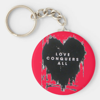 Love Conquers All Key Chains