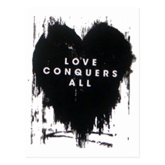 Love Conquers All Postcard