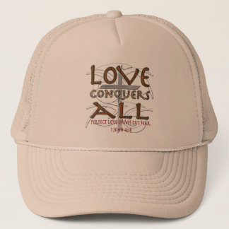 Love Conquers All Trucker Hat