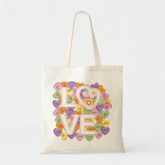 Love Conversation Hearts Bag
