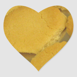 Love Cookies Heart Sticker