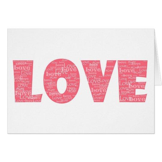 LOVE copy Card