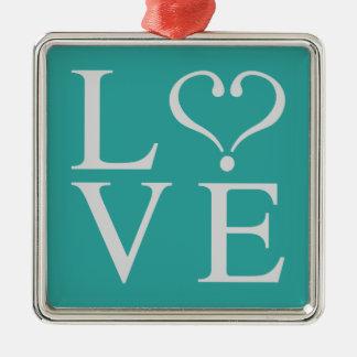 Love corazon1.pdf metal ornament
