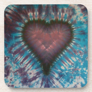 Love Cork Tie Dye Coasters