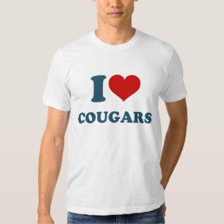 Love Cougars Tee Shirt