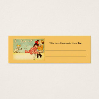 Love Coupon-6 Mini Business Card