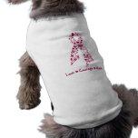 Love Courage Hope Hereditary Hemochromatosis Dog T-shirt