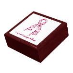 Love Courage Hope Hereditary Hemochromatosis Jewelry Box
