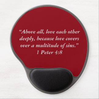 """""""Love Covers"""" Motivational Mouse Pad"""