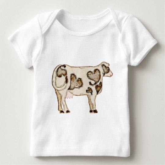 Love Cow Baby T-Shirt