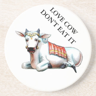 Love Cow Coaster