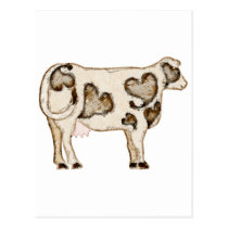 Love Cow Postcard